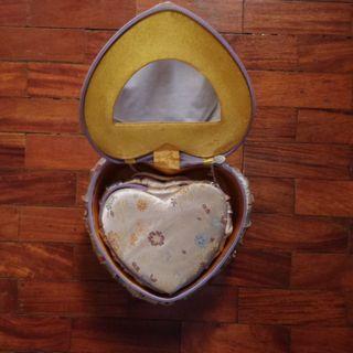 Heart Shaped Jewelry Box Duo