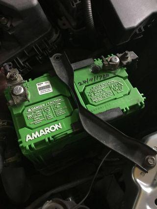 Amaron Battery used only 5 months