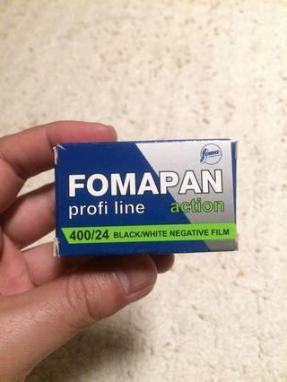 Film Analog 35mm BW Expired - Fomapan Action 400