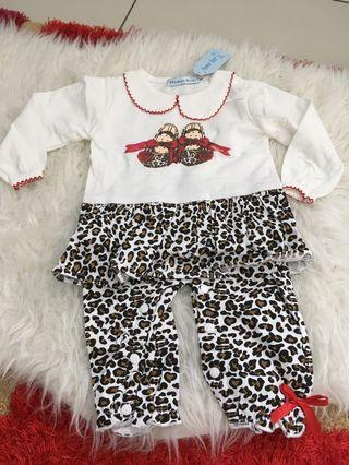 Baby Romper size 2 years leapord