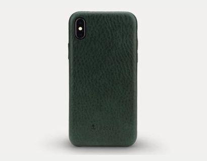 Nodus IPhone X leather case