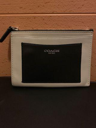 Coach card holder/coins/wallet