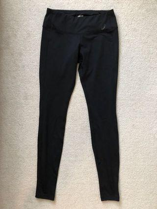 BNWT Asics black leggings- size Small