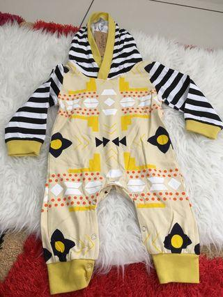 Sleepsuit with hoodie size 1 years