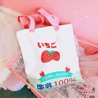 PO   Strawberry Tote Bag