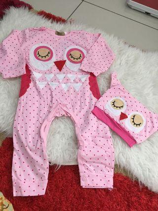 Baby Girl Sleepsuit size 2 years
