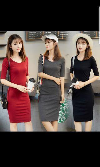 Slim Bodycon Dress office casual dress