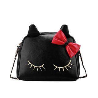 Cat ears sling bag