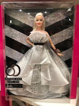 Barbie doll 60th Anniversary