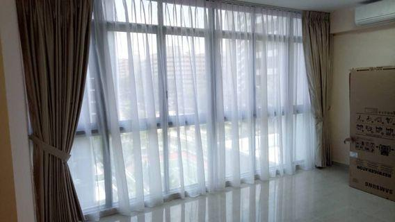 Curtain Blinds Vinly Grills