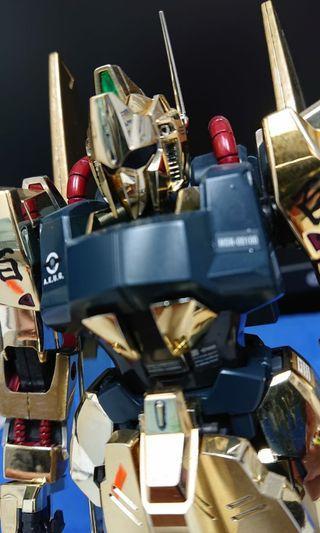 日本直送素組完成品 1/100 MG 百式電鍍版  #1262