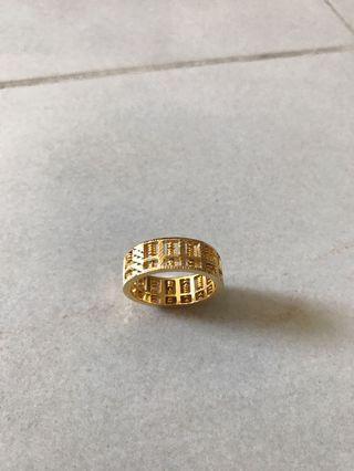 916 22k gold ring
