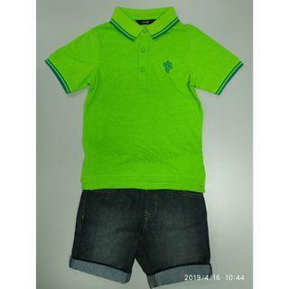 George 753471男童Polo恤+短褲