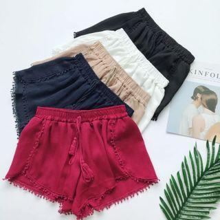 Instocks   Pom Pom Shorts