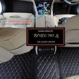 Customised luxury car mat BMW 740li