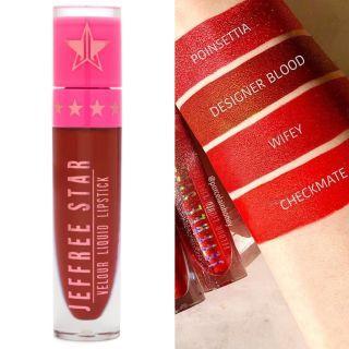 designer blood velour liquid lipstick