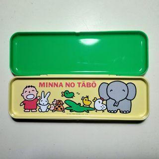 全新 絕版 1995年 大口仔筆盒 Sanrio Minna No Tabo