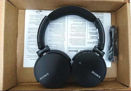 全新美國原裝sony mdr-xb650bt低音藍芽耳罩耳機