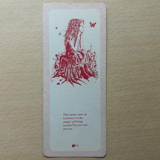 Unused Bookmark bought in the 1980s.