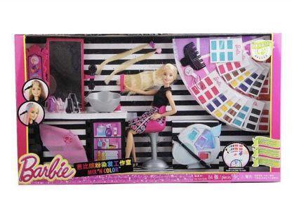 美泰兒 Mattel 芭比繽紛染髮工作室
