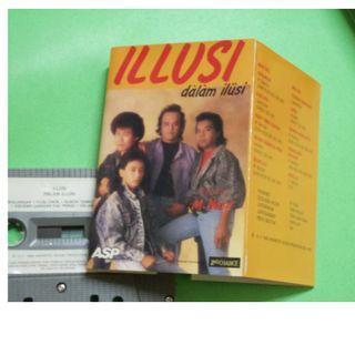 CASSETTE / KASET ILLUSI : DALAM ILLUSI ALBUM (1988) ASP AYAI M.NASIR ILUSI