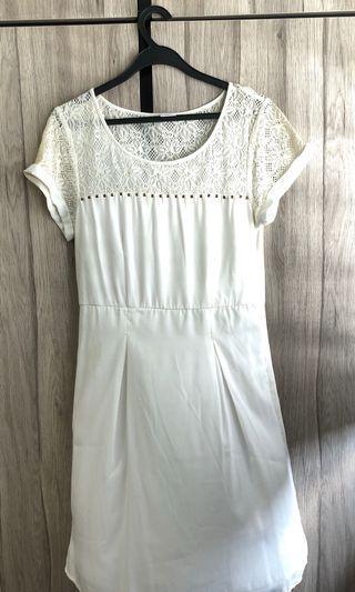 💕Preloved: Vera Moda White top/dress Size L