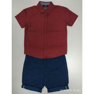 George 083296男童恤衫+短褲