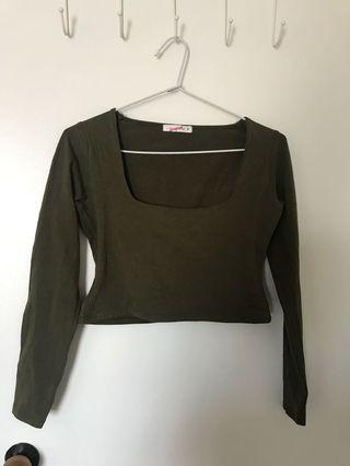 Supre long sleeve crop