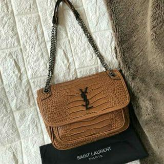 SL NIKI CHAIN CROCO