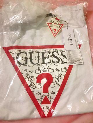 GUESS-KITTY聯名款短袖T恤