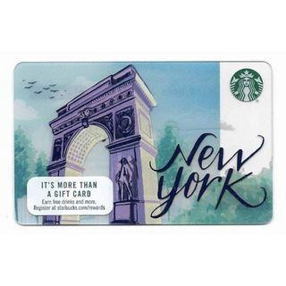 New York Starbucks Card