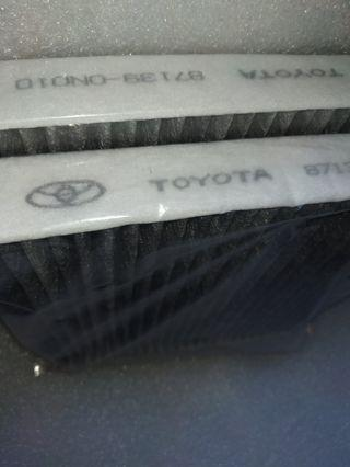 OFFER $14 ONLY! Quality Carbon Cabin Filter for Toyota Wish/Altis/Vios/Alphard/. Only Few pieces to clear. Hurry!