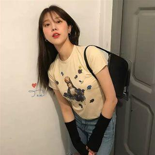 🚚 [PO] vintage angle tight fit top