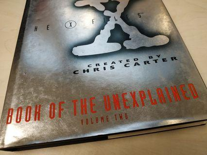 The X files X檔案(book of unexplained) English, Simon and schuster England,西蒙舒斯特出版#newbieApr19