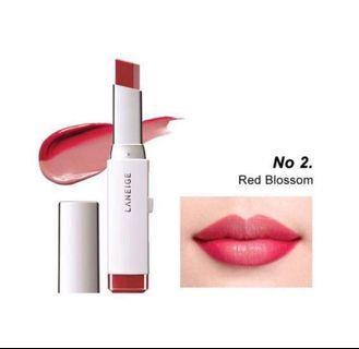 Laneige Two Tone Lipstick - Red Blossom