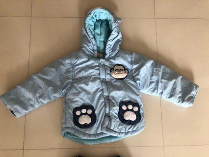 🚚 Baby winter wear jacket and pants set
