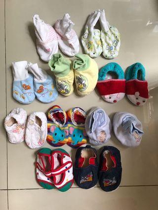 Sepatu bayi newborn-6 bulan
