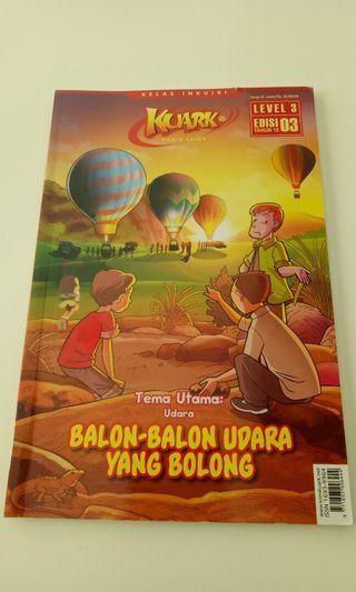 Buku Komik Edukatif Kuark