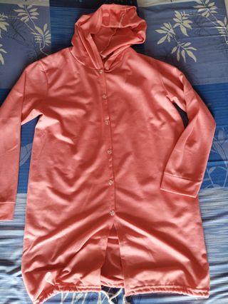 Jaket dusty pink