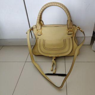 Authentic chloe marcie leather bag