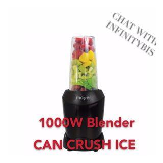 Mayer 1000W Blender (Able to crush ice)