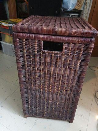 全手工藤製收納箱 Handmade Basket 古董家俬