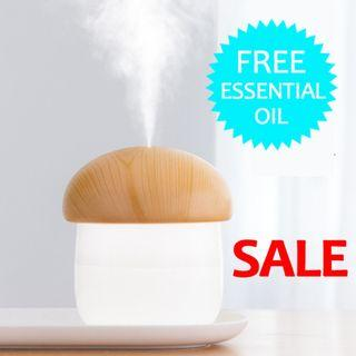 2019 LATEST MODEL! USB Aroma Diffuser and Home Air Freshener for Bedroom, Living Room, Office, Car. Air Humidifier and Purifier