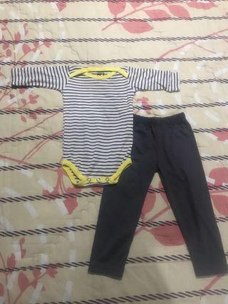 Jumper bayi dan legging