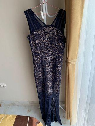 Mididress navy