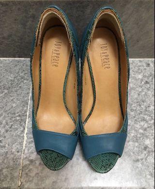 Canary Blue Heels
