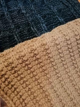 SCARFS: Long Knitted Scarf / Scarves