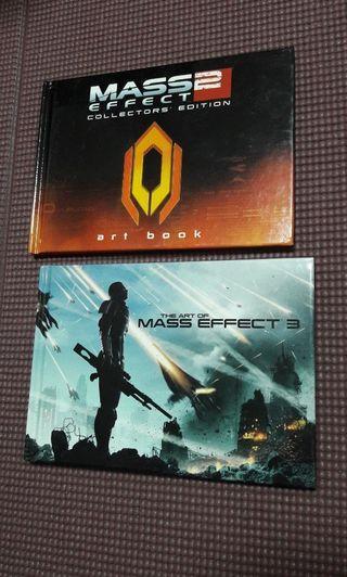 Mass Effect 2 &3 Art Book《2 for $12》