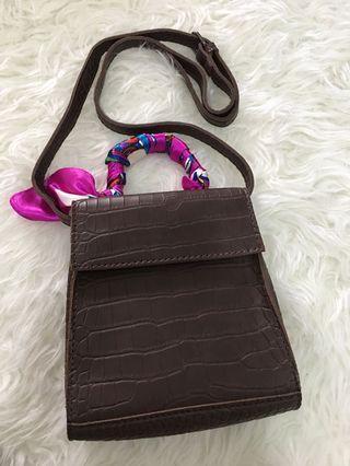 Vintage Bag dark brown