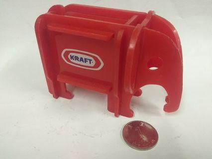 懷舊收藏 Kraft 芝士商品錢罂 錢箱